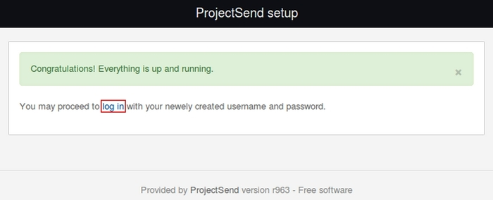 Installer ProjectSend sur Centos 7