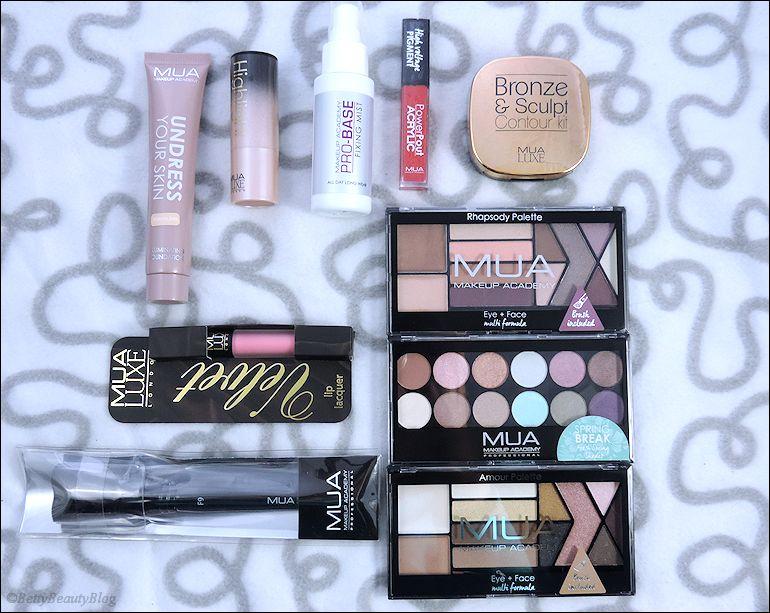 Nouveautés MUA (makeup academy)