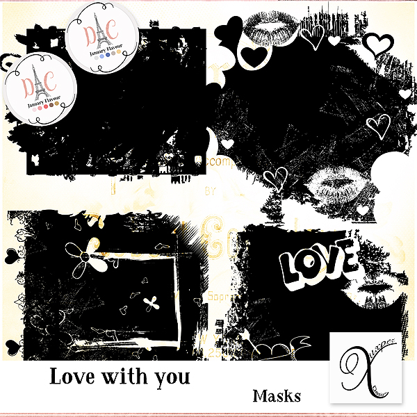 Love with you mask