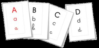 Affichage - Bande alphabétique
