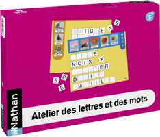 Pour le jeu Ateliers des lettres de chez Nathan - suite