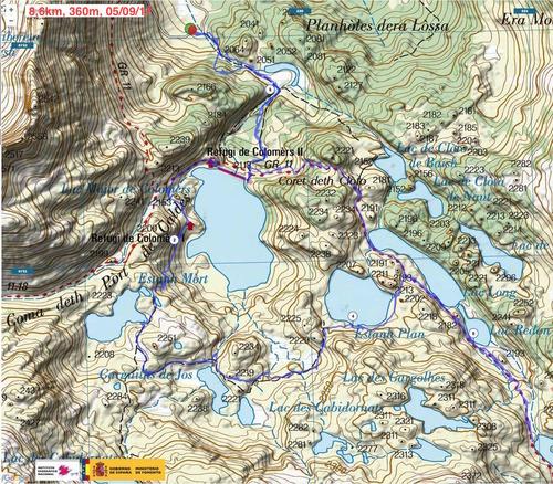 Val d'Aran et Encantats: circuit autour du refuge de Colomers