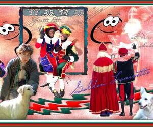 Sinterklas Piet St Nicolas