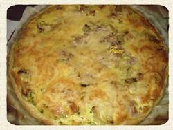Tarte P2T / jambons / oignons