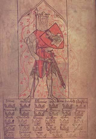 Le roi Arthur et la liste des royaumes conquis