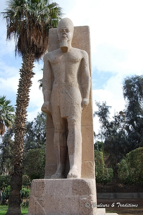 Menphis, capitale de l'ancienne Egypte