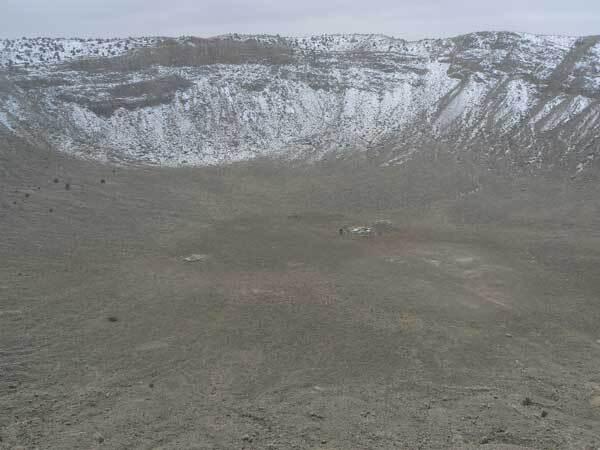 Cratere en Arizona