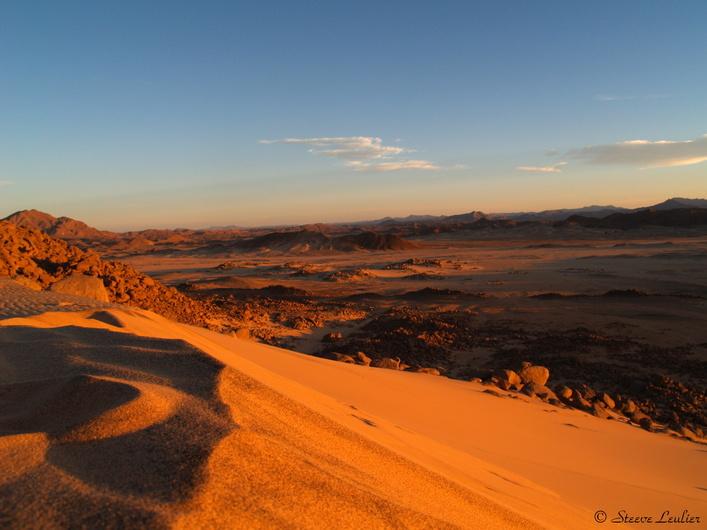 Les dunes du Tassili