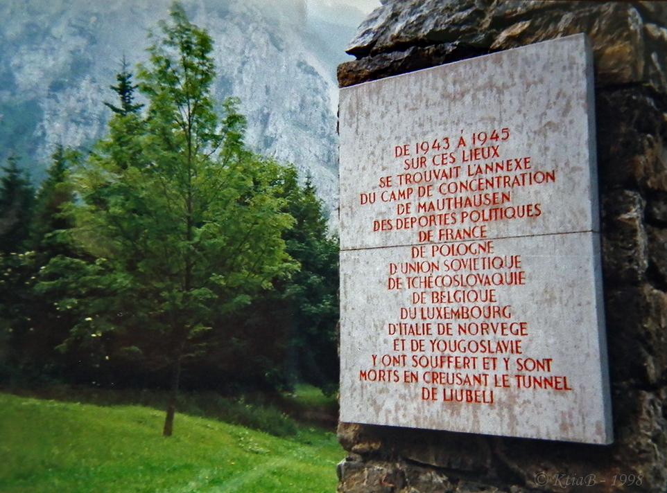 Le camp de Ljubelj, Slovévnie