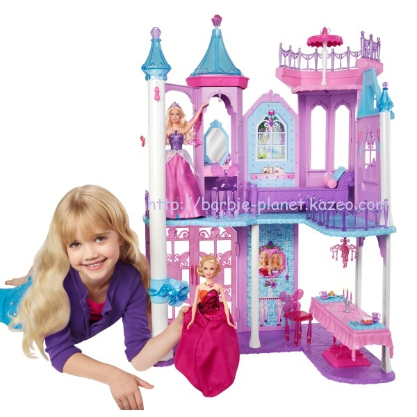 barbie mariposa the fairy princess le chteau