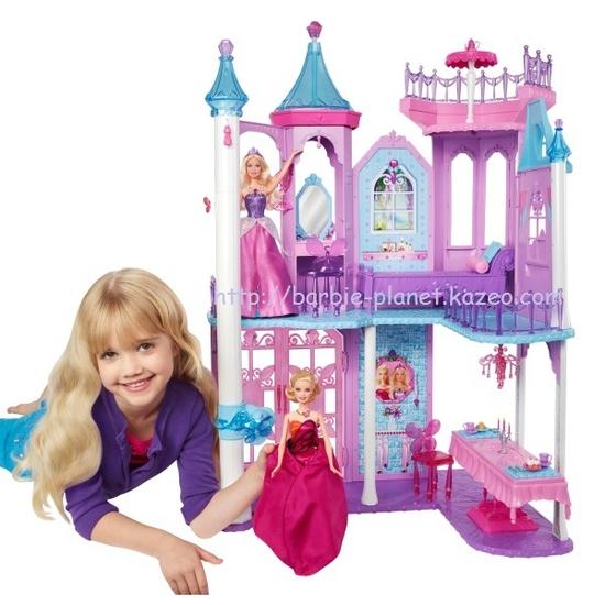 Barbie Mariposa & The Fairy Princess - Le château