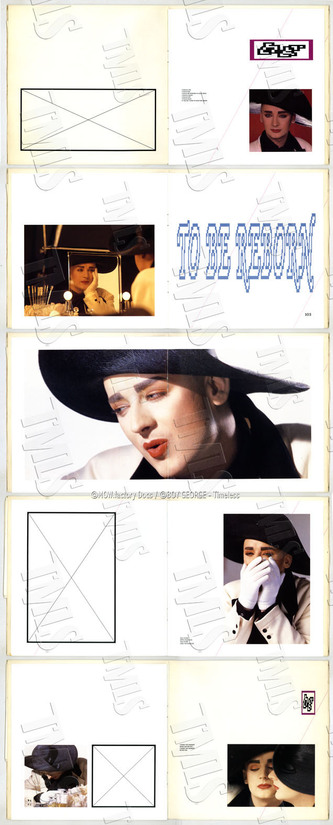 BOY GEORGE - 1987 - TO BE REBORN - LIMITED EDITION N°28