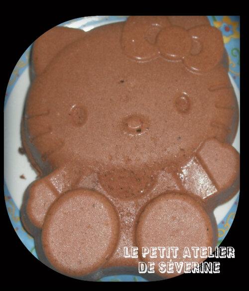 Gâteau au chocolat sans gluten et sans produit laitier