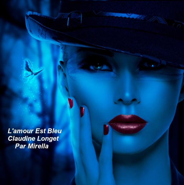L'amour Est Bleu    Claudine Longet      Par Mirella