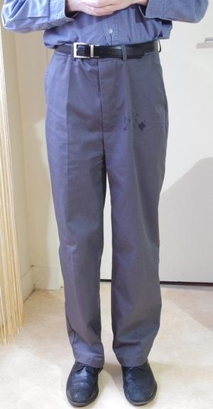 Pantalon masculin sur-mesure