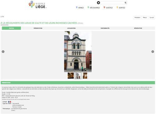 Liège - A la découverte des lieux de culte et de leurs richesses cachées