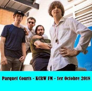 Le Choix des Lecteurs # 128: Parquet Courts - KCRW FM - 1er Octobre 2018
