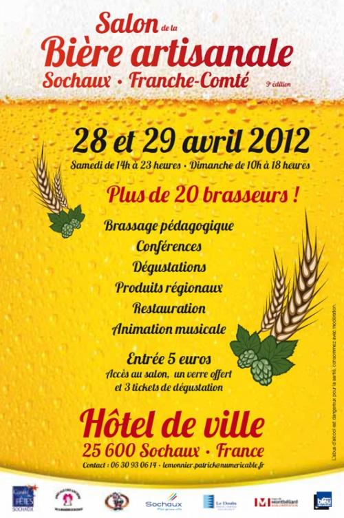 Salon de la Bière Artisanale à Sochaux