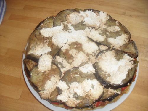 une tarte tatin ensoleillée