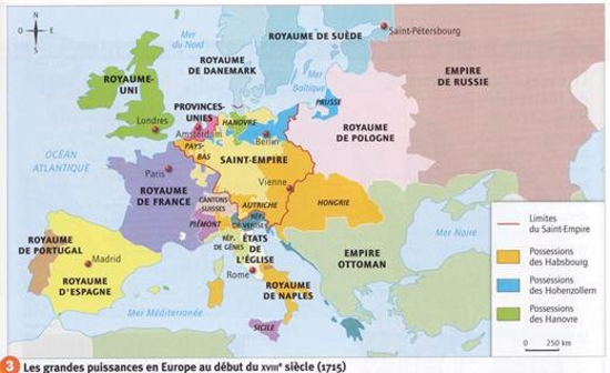 carte europe 4eme siecle