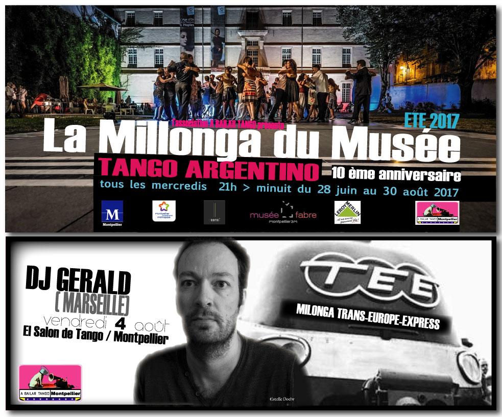 "★ Mercredi 2 août, La MDM avec ""Las Manitas"" / ce vendredi 4 : Milonga TEE au Salon de Tango, dj Gérald (Mrs) ★"