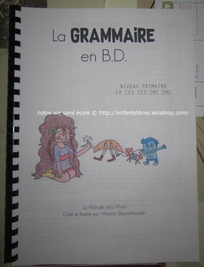 La grammaire en BD