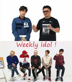 # Weelky Idol - VIXX et MC Sung Gyu (Infinite) [02/12/15]