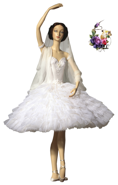danseuse tutu blanc