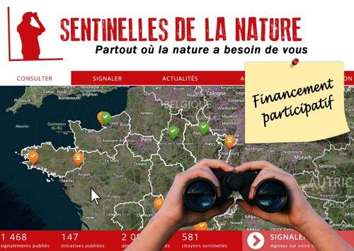 Financement participatif pour les « Sentinelles de la Nature »