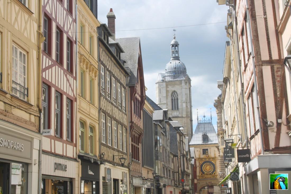 NORMANDIE : mai 2017 ROUEN ( 3 ) Palais et cathédrale