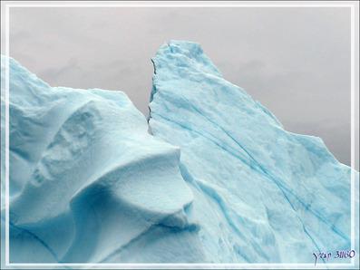 Du bleu encore du bleu ... - Akudleq - Région d'Uummannaq - Groenland