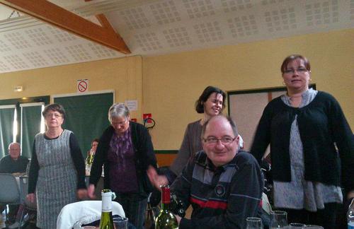 Repas de la commune 04 fevrier  2012