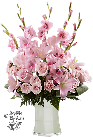 Tubes fleurs création