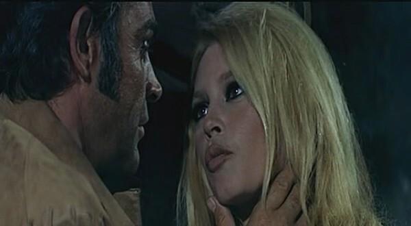 BRIGITTE BARDOT ET SEAN CONNERY - SHALAKO - 1968