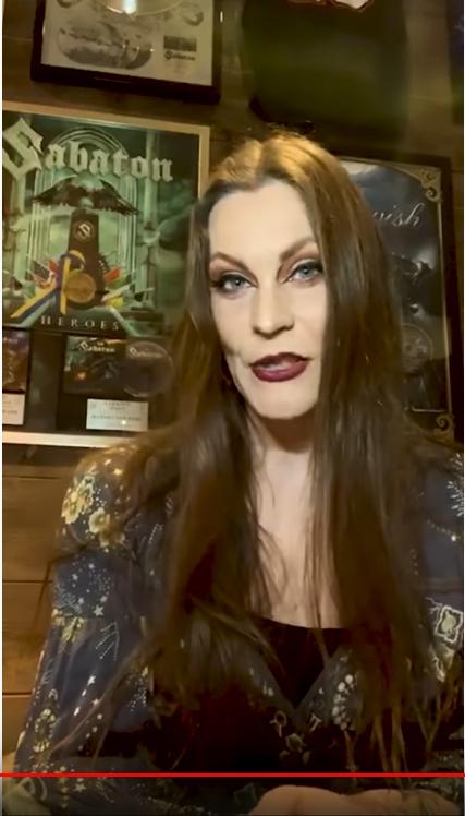 NIGHTWISH : Vidéo de Floor Jansen le 2 avril 2020