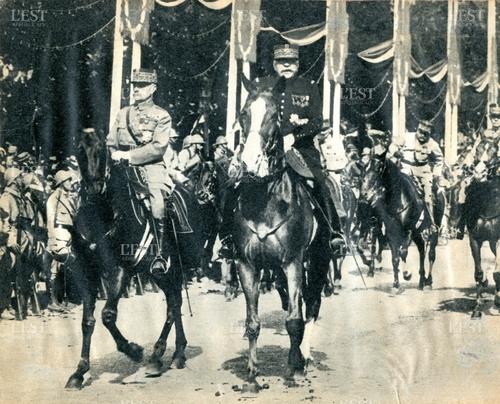 Le Défilé de la Victoire à Paris - Juillet 1919