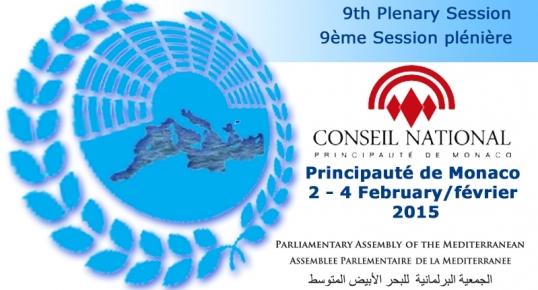9ème session Assemblée Parlementaire de la Méditerranée