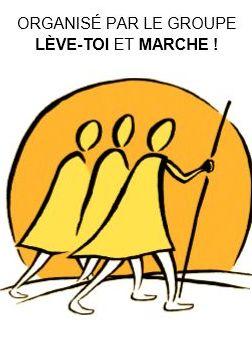 En marche- Pèlerinage Marie-Reine-de-la-Paix