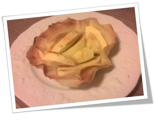 Tartelette légère pommes spéculoos