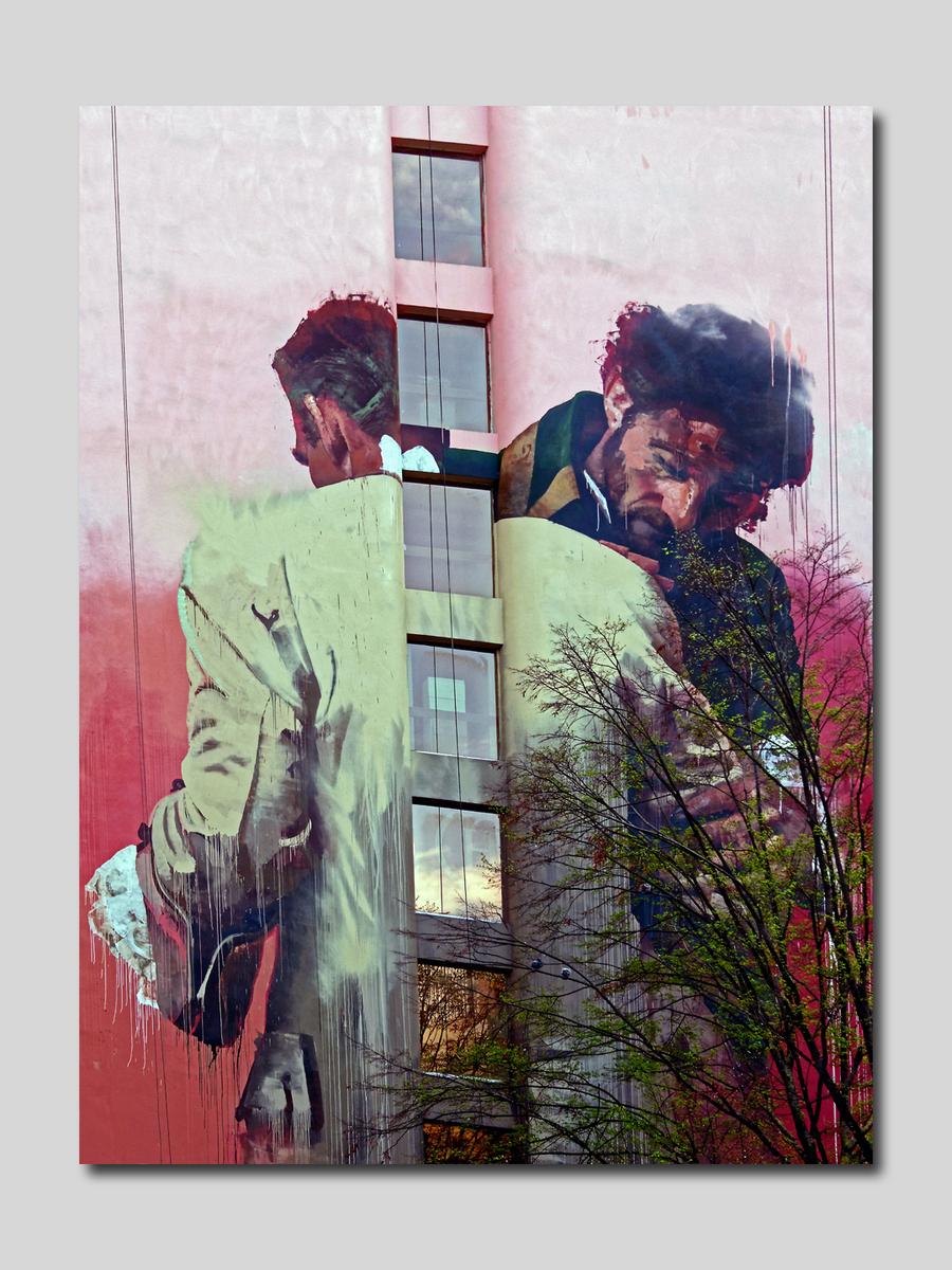 Art de rue Artiste Conor Harington