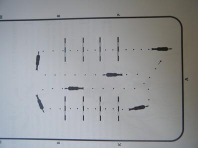 Les barres au sol (1)