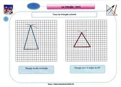Tracé des triangles correctif