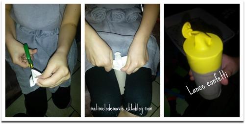 Fabrication d'un lance confetti