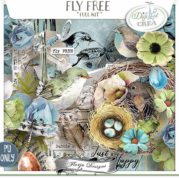 Fly Free { Kit PU } by Florju Designs