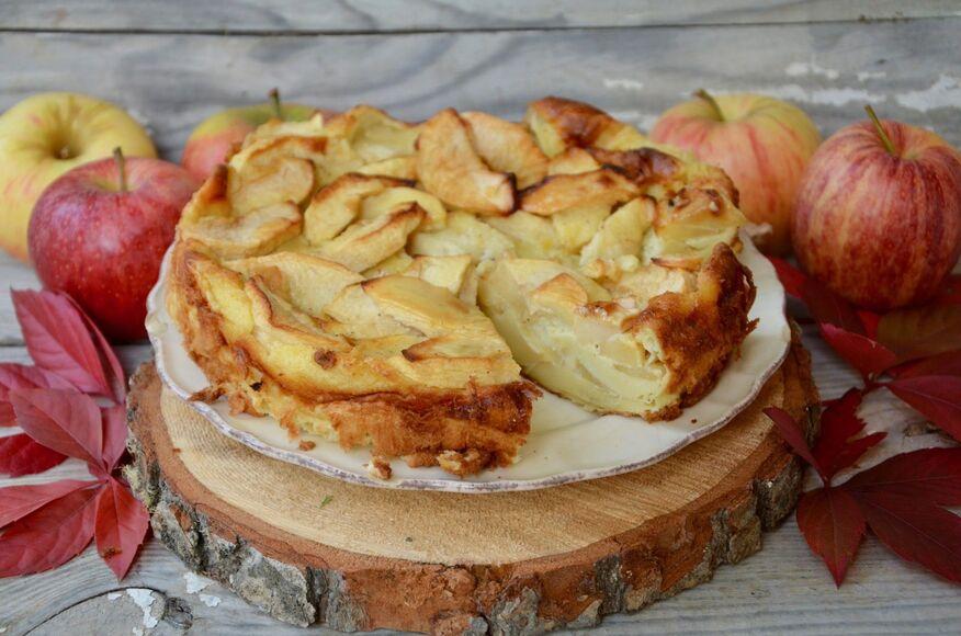 gateau aux pommes cannelle