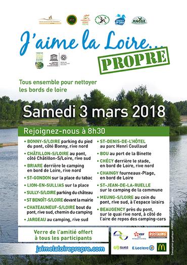 Opération : J'aime la Loire propre