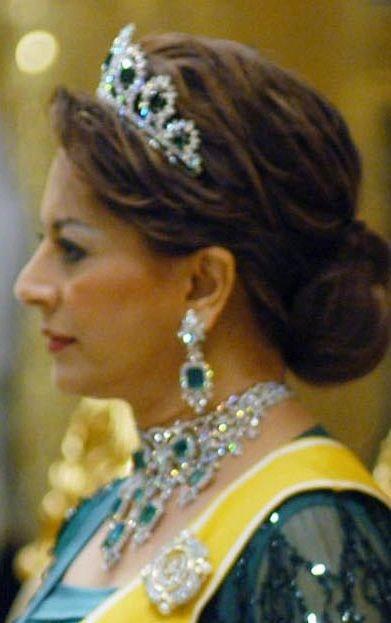 Parure d'émeraudes d'une sultane de Malaisie
