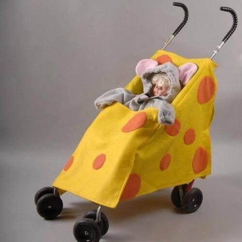 Idées de déguisement pour enfants en poussette