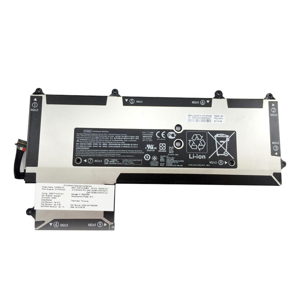 21Wh Vervanging Batterij Voor HP OY06XL HSTNN-DB6A 750335-2B1 750335-2B1