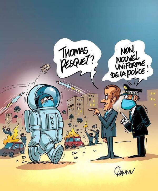 L'actualité vue par des dessinateurs humoristes....